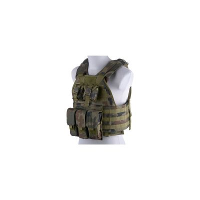 GFC plate carrier tactic Woodland Panther