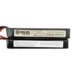 8Fields accumulator LiPo 11.1V 2200mAh crane x2