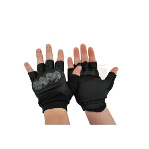 8Fields Tactical gloves fingerless ver. 3 Black (L)
