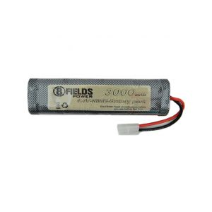 8Fields accumulator NiMh 9.6V 3000 mAh large compact
