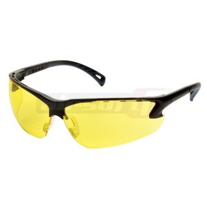 ASG Safety Glasses Adjustable Yellow