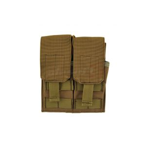 8Fields M4/M16 Double Mag Pouch Coyote front view