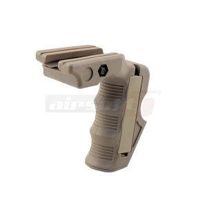 ACM Vertical ergonomic grip Tan
