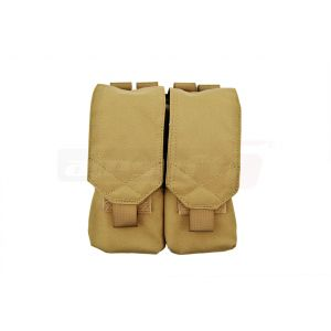 Invader Gear Double Pouch M4/M16 Coyote