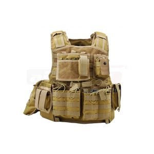 Invader Gear Tactical Vest Mod Carrier Combo Coyote
