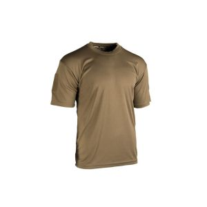 Mil-Tec tricou Quick Dry Coyote S