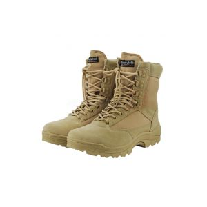 Mil-Tec Boots Zippered Coyote No. 43