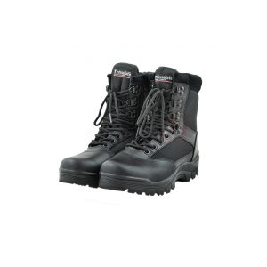 Mil-Tec Boots Zippered Black No. 40