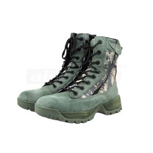 Mil-Tec Boots Doulbe Zippered ACU Digital No. 43