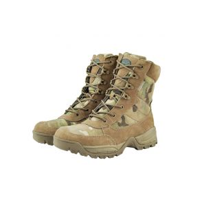 Mil-Tec Tactical Zippered Boots Multicam No. 44