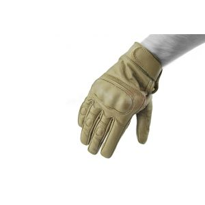 Mil-Tec Knuckle Tactical Gloves Coyote L
