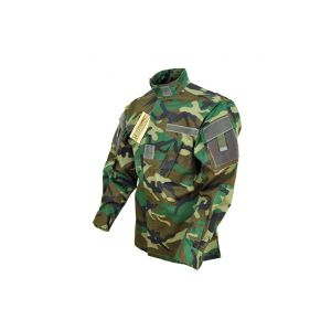Mil-Tec Jacket Army Combat Uniform Woodland M