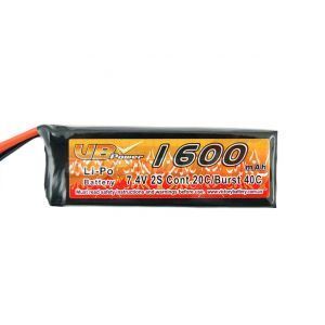VB Power Accumulator LiPo 7.4V 1600mAh compact